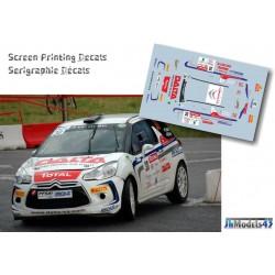 Cedric Robert - Citroen DS3 R3T - Rally MontBlanc 2013