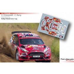 Gus Greensmith - Ford Fiesta R5 - Rally Poland 2017