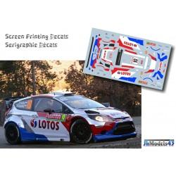 Robert Kubica - Ford Fiesta RS WRC - Rally Montecarlo 2014