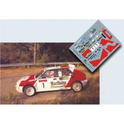 Luis Monzón - Lancia Delta Integrale - Rally La Cerámica 1992