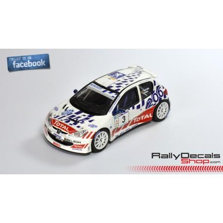 Peugeot 206 S1600 - Enrique García Ojeda - Rally Vilajoiosa 2005