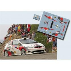 Dani Solá - Honda Civic R3 - Rally Spain Catalunya 2007
