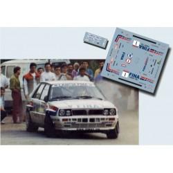 Gustavo Trelles - Lancia Delta - Rally Príncipe de Asturias 1991