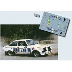Jose Luis Graña - Ford Escort MK II - Rally Llanes 1983