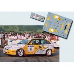 Mia Bardolet / Luis Climent - Opel Astra GSI - Rally San Agustín 1994