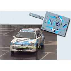 Roberto Solis - Peugeot 106 Maxi - Rally Príncipe de Asturias 2001
