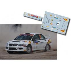 Xevi Pons - Mitsubishi Lancer EVO IX - Rally Naciones 2009