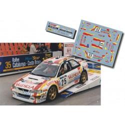 Luis Climent - Subaru Impreza WRC - Rally Spain Catalunya 1999