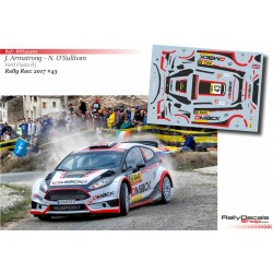 Jon Armstrong - Ford Fiesta R5 - Rally RACC Catalunya 2017