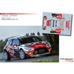 François Duval - Citroen DS3 R5 - Rally Condroz 2017