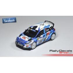 Hyundai i20 R5 - Stephane Sarrazin - Rally Tour de Corse 2016