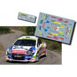 Albert Llovera - Fiat Punto S2000 - Rally Deutschland Germany 2010