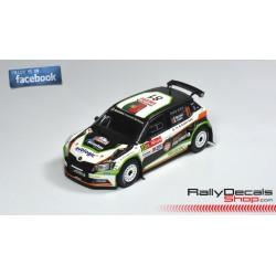 Skoda Fabia R5 - Pedro Meireles - Rally Portugal 2017