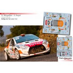 Hugo Margaillan - Skoda Fabia R5 - Rally du Var 2017