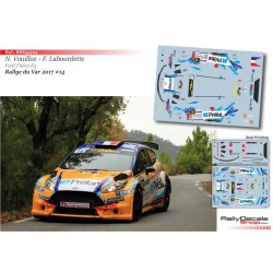 Nicolas Vouilloz - Ford Fiesta R5 - Rally du Var 2017