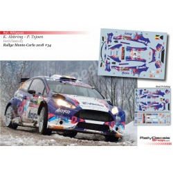 Kevin Abbring - Ford Fiesta R5 - Rally Montecarlo 2018