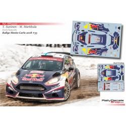 Teemu Suninen - Ford Fiesta R5 - Rally Montecarlo 2018
