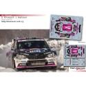 Kalle Rovanperä - Skoda Fabia R5 - Rally Montecarlo 2018