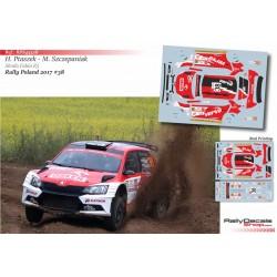 Hubert Ptaszek - Skoda Fabia R5 - Rally Poland 2017