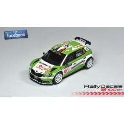 Skoda Fabia R5 - Claude Carret - Rally Montecarlo 2018