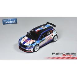Skoda Fabia R5 - Mathieu Arzeno - Rally Montecarlo 2018