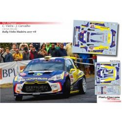Carlos Vieira - Citroen DS3 R5 - Rally Madeira 2017