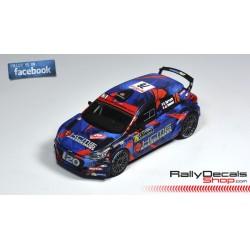 Hyundai i20 R5 - Stephane Sarrazin - Rally Montecarlo 2018