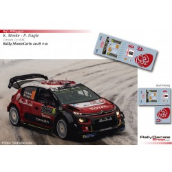Kris Meeke - Citroen C3 WRC - Rally Montecarlo 2018
