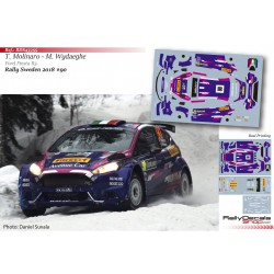 Tamara Molinaro - Ford Fiesta R5 - Rally Sweden 2018