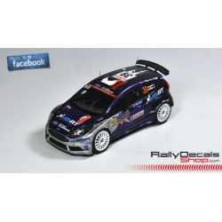 Ford Fiesta R5 - Eric Camilli - Rally Montecarlo 2017