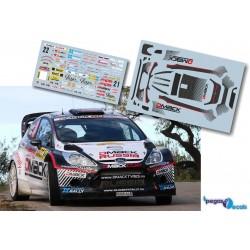 Evgeny Novikov - Ford Fiesta WRC - Rally Spain Catalunya 2012