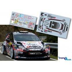 Martin Prokop - Ford Fiesta WRC - Rally Spain Catalunya 2012