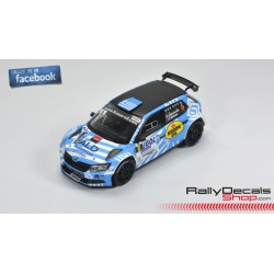 Skoda Fabia R5 - Jourdan Serderidis - Rally Touquet 2018
