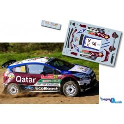 Elfyn Evans - Ford Fiesta RRC - Rally Portugal 2013