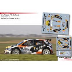 Kris Princen - Skoda Fabia R5 - Rally Haspengouw 2018
