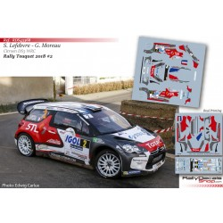 Stephane Lefebvre - Citroen DS3 WRC - Rally Touquet 2018