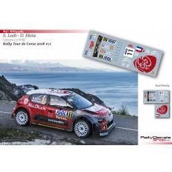 Sebastien Loeb - Citroen C3 WRC - Rally Tour de Corse 2018