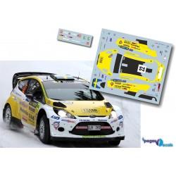 Pontus Tidemand - Ford Fiesta WRC - Rally Sweden 2013