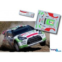 Benito Guerra - Citroen DS3 WRC - Rally Mexico 2013