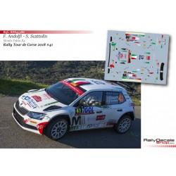 Fabio Andolfi - Skoda Fabia R5 - Rally Tour de Corse 2018