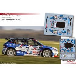 Cedric Cherain - Skoda Fabia R5 - Rally Haspengouw 2018