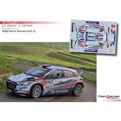 José Antonio Suárez - Hyundai i20 R5 - Rally Sierra Morena 2018