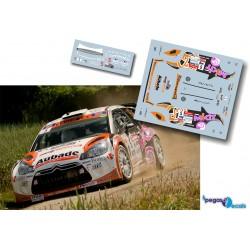 Jean Michel da Cunha - Citroen DS3 WRC - Rally Rouergue 2013