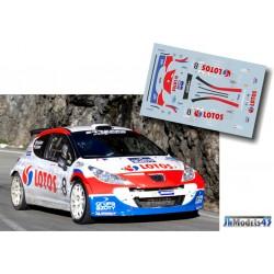 Robert Kubica - Peugeot 207 S2000 - Rally Cittie dei Mille 2013