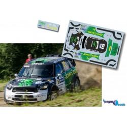 Jarkko Nikara - Mini John Cooper Works WRC - Rally Finland 2013