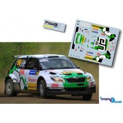 Esapekka Lappi - Skoda Fabia S2000 - Rally Finland 2013