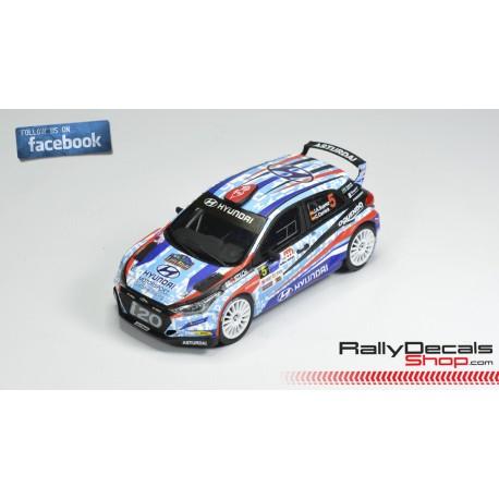 Hyundai i20 R5 - José Antonio Suárez - Rally Sierra Morena 2018