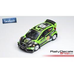 Ford Fiesta WRC - Yazeed Al Rajhi - Rally Sweden 2018