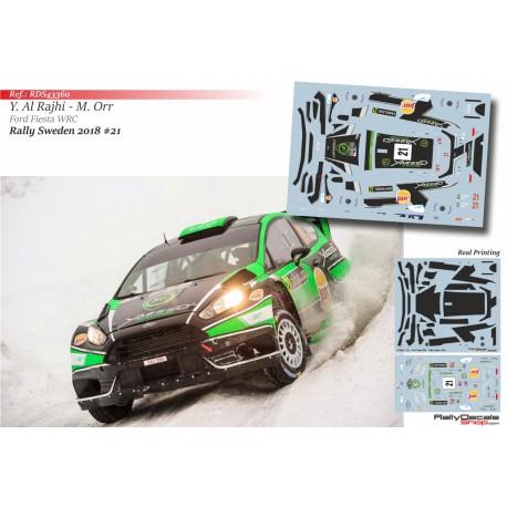 Yazeed Al Rajhi - Ford Fiesta WRC - Rally Sweden 2018