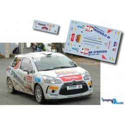 Keith Cronin - Citroen DS3 R3T - Rally Var 2012